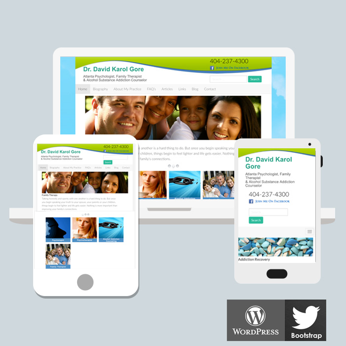 Norcross WordPress Website Design