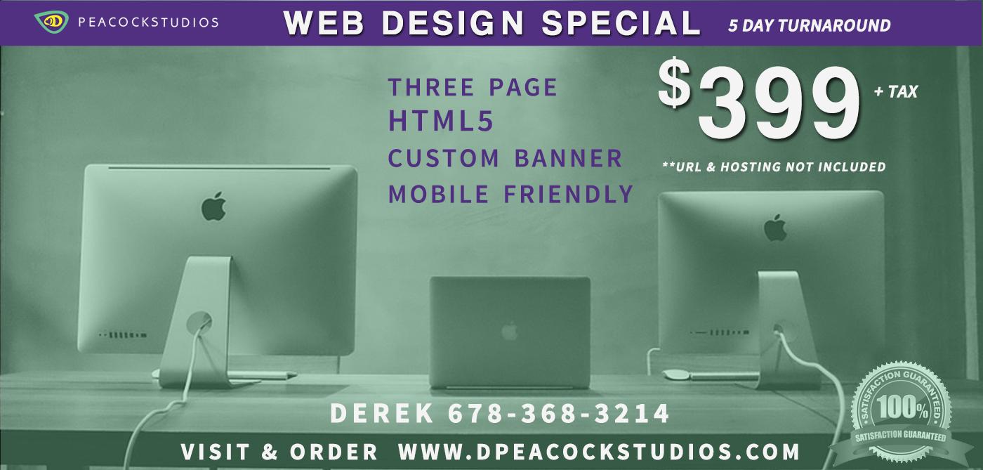 Web Design Special Norcross GA